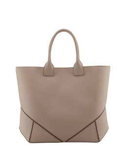 Givenchy Napa Stitched Easy Tote Bag, Beige