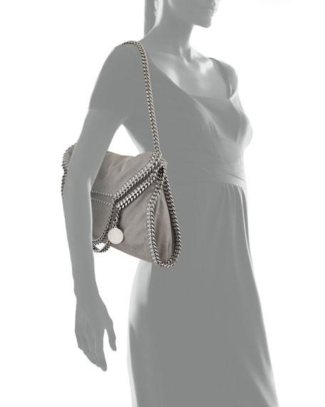 Falabella Fold-Over Shopper Bag, Gray