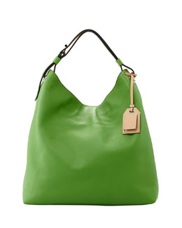 Reed Krakoff RDK Leather Hobo Bag, Green