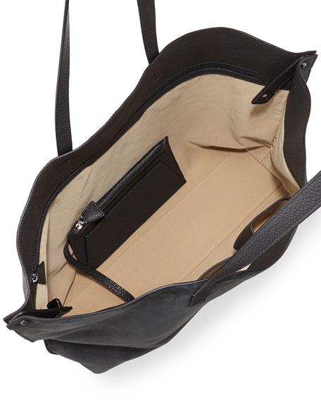 Ai Medium Combo Shoulder Tote Bag, Gray