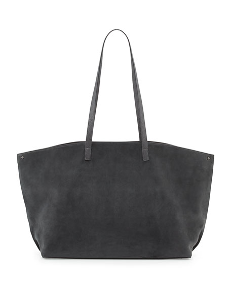 Ai Medium Combo Shoulder Tote Bag, Gray