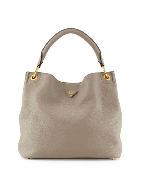 90433acaa01c Prada Vitello Daino Single-Strap Hobo Bag