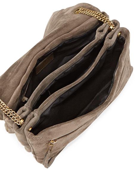 Sugar Medium Shoulder Bag, Gray