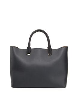 Chloe Baylee Bicolor Medium Tote Bag, Black/White