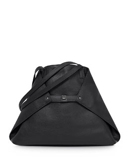 Ai Medium Cervo Tote Bag, Black