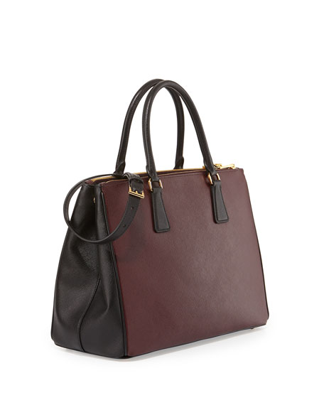 a4d472edda0c22 Prada Double Bag Burgundy | Stanford Center for Opportunity Policy ...