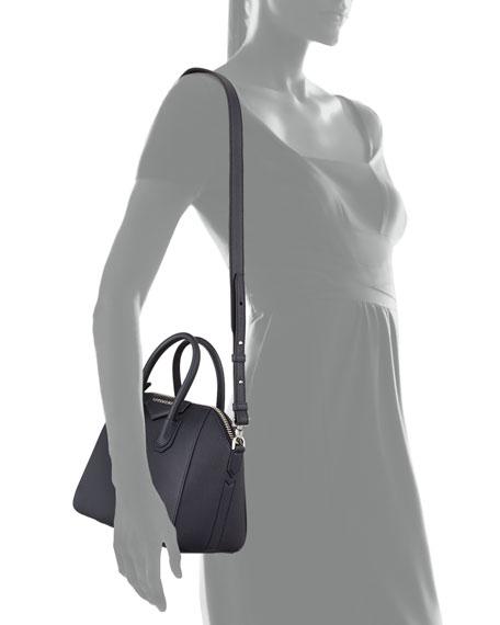 fa5a5979bf7 Givenchy Antigona Mini Sugar Leather Satchel Bag