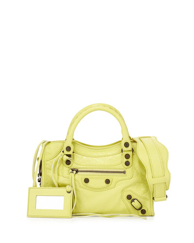 Classic Arena Mini City Bag, Yellow