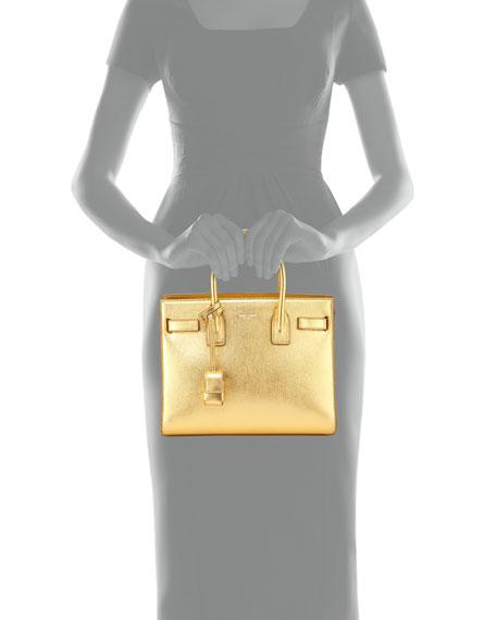 yves saint laurent clutch with chain - Saint Laurent Sac de Jour East-West Baby Tote Bag, Gold