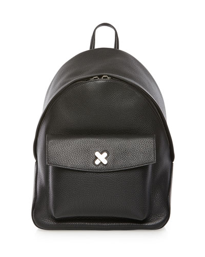 Icon Pebbled Leather Backpack