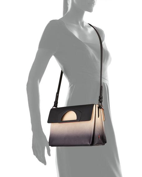 10de85f1239 Passage Ombre Pebbled Leather Messenger Bag