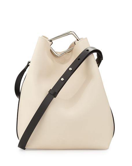 6e2b792081b9 3.1 Phillip Lim Quill Mini Bicolor Bucket Bag