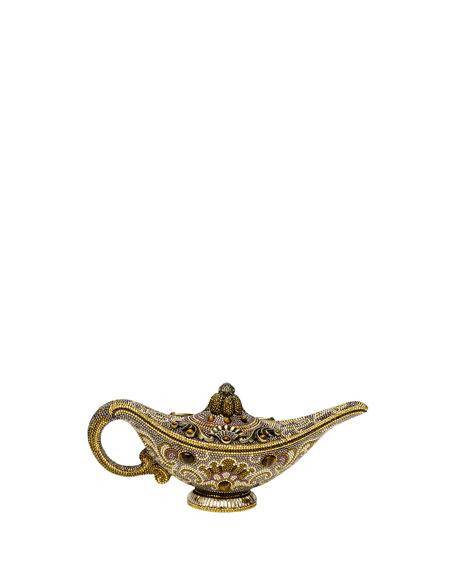 Genie Lamp Clutch Bag w/ Tiger's Eye