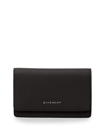 Pandora Leather Wallet, Black