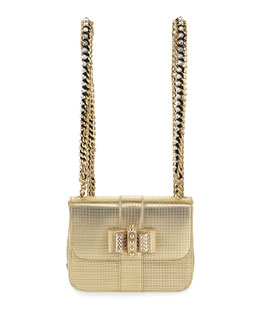 Sweet Charity Mini Backpack, Gold