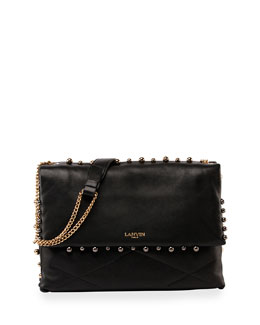 Sugar Medium Studded Shoulder Bag