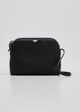Multi-Pouch Calfskin Crossbody Bag