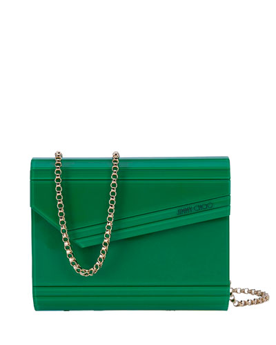 Candy Acrylic Crossbody Bag, Green