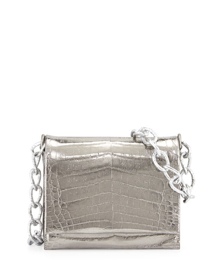 Small Crocodile Chain Shoulder Bag