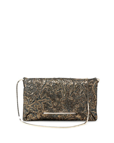 Mai-Thai Brocade Envelope Clutch Bag, Multi