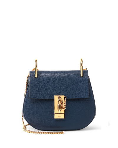 Chloé Paraty Small Shoulder Bag Drew Small Shoulder Bag Navy