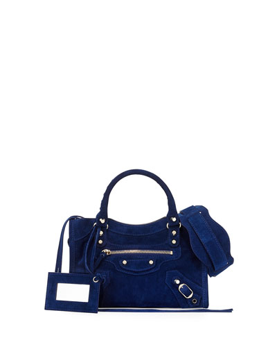 Classic City Mini Suede Bag