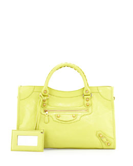 Giant 12 Golden City Bag, Jaune Citron