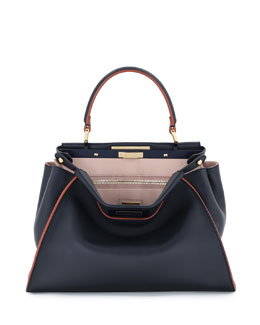 Peekaboo Medium Tricolor Calf Bag