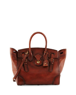 Ricky 33 Soft Vachetta Satchel Bag, Vintage Brown