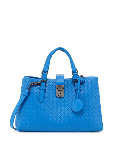 Roma Leggero Small Tote Bag, Bluette
