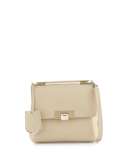 Le Dix Soft Mini Satchel Bag, Ivory