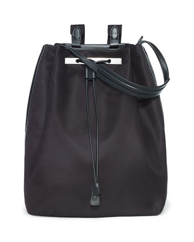 Backpack 11 Nylon Bag, Black