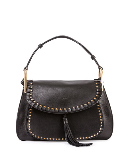 6692b76fbb2b Chloe Hudson Leather Double-Carry Bag