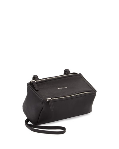 Pandora Mini Sugar Crossbody Bag, Black