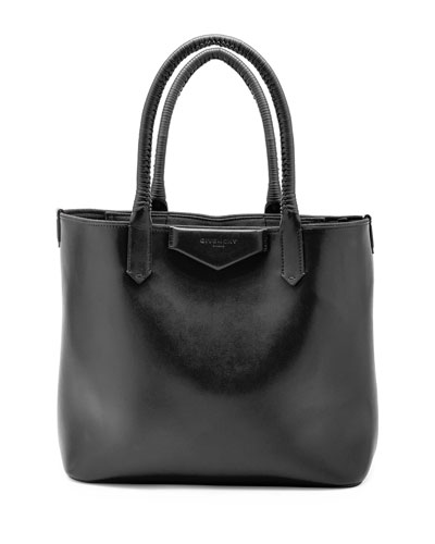 Antigona Whipstitch-Handle Tote Bag, Black