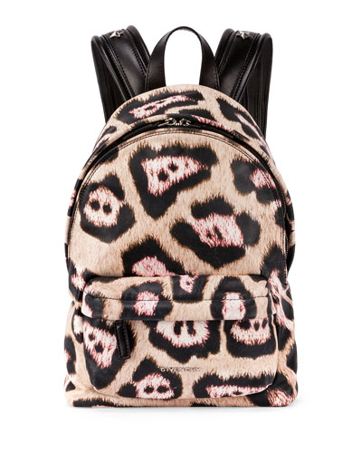 Antigona Leopard-Print Backpack, Multi
