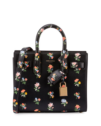 Sac de Jour Mini Prairie Tote Bag, Black Multi