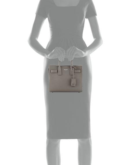 Saint Laurent Sac de Jour Nano Leather Satchel Bag 47b8e830b6206