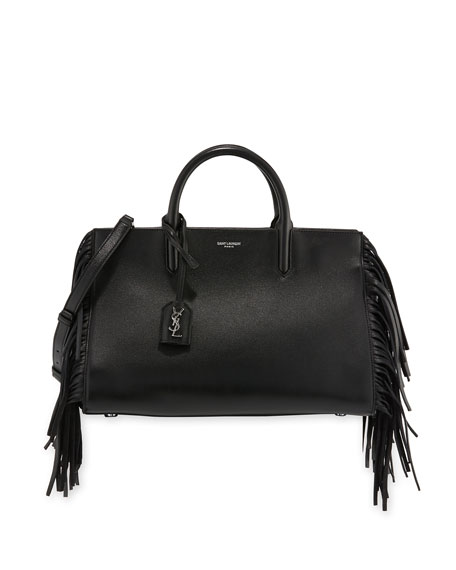 Rive Gauche Small Cabas Box Bag, Black