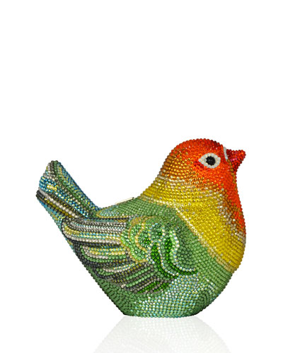 Bird Crystal Minaudiere, Multi
