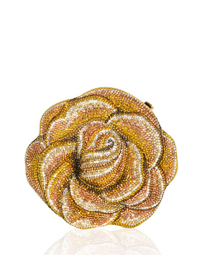 New Rose Crystal Minaudiere, Champagne