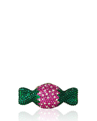Strawberry Candy Crystal Minaudiere, Multi