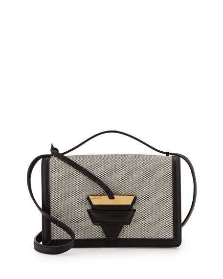 22adf5731165 Loewe Barcelona Canvas Crossbody Bag