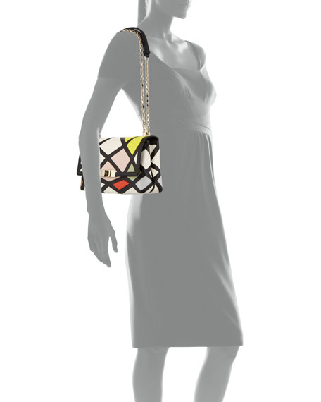 Roger Vivier Prismick Shoulder Bauhaus Mini Bag da472da861c43