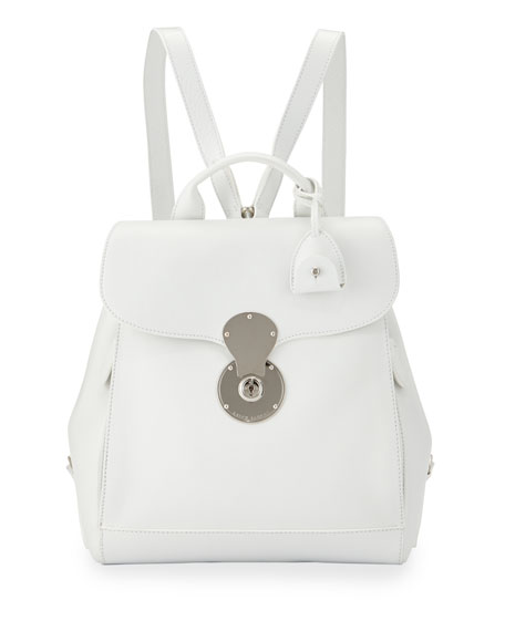 2dbda2136589 Ralph Lauren Ricky Calf Leather Backpack
