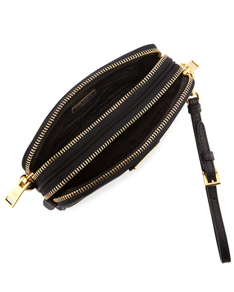 15004eb83a81 Prada Nylon Shoulder Bag With Compartments | Stanford Center for ...