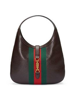 Jackie Soft Leather Hobo Bag