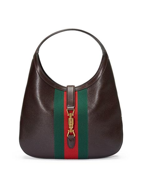 f511d37dd39 Gucci Jackie Soft Leather Hobo Bag