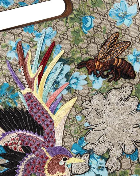 f8c5bbd8f06a Gucci XL GG Floral-Print Tote Bag