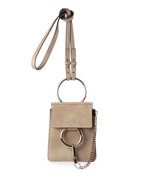 1ef43ab501da Chloe Faye Suede Mini Bracelet Bag